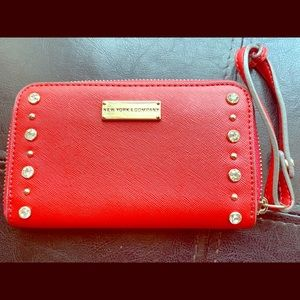 New York &Company  Red women's wallet